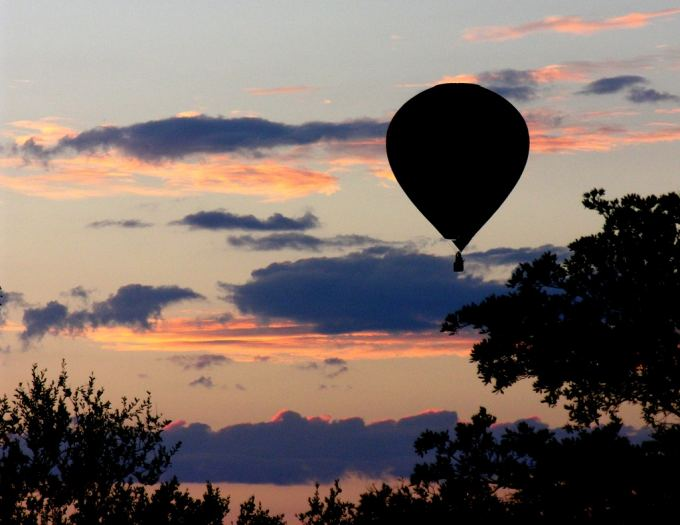 Balloon Dawn Flight