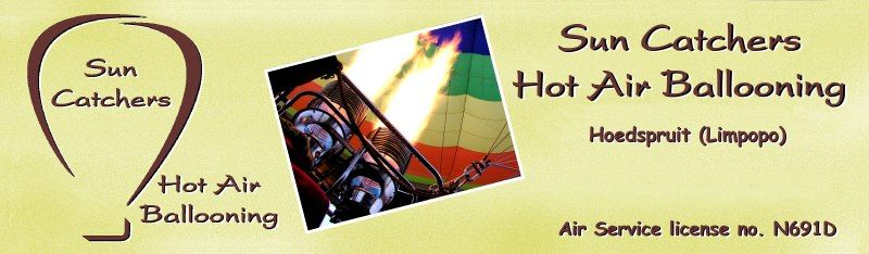 Sun Catchers Hot Air Ballooning banner